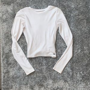 hollister long sleeve crop
